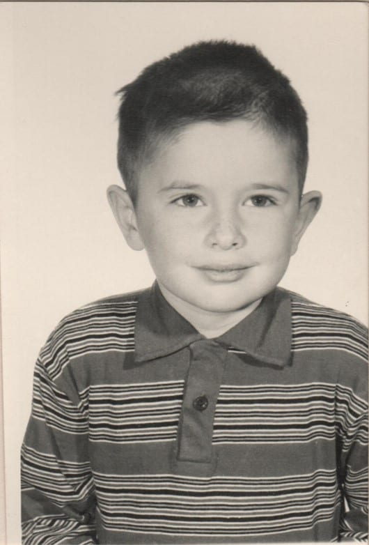 James as child