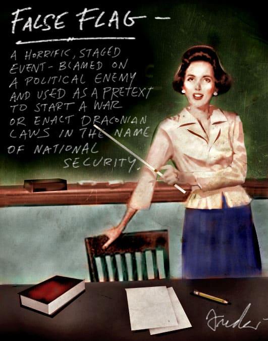 False Flag Teacher