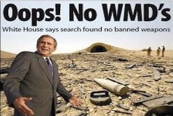 Oops No WMDs