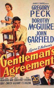 Gentleman's Agreement poster