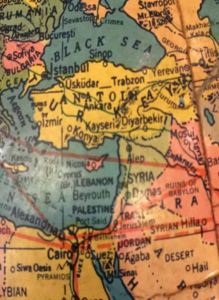 Palestine map 2